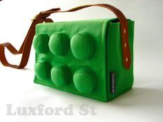 Block Bag in Grass Green