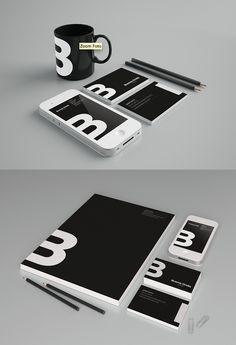 Nice brand identity presentation #branding #logo #identity #stationery #graphic #design
