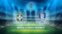 Brazil U-17 vs Korea Republic U-17 (17 Oct 2015) Live Stream Links - Mobile streaming available