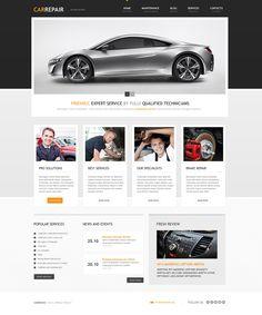 Car Repair Services #WordPress #Responsive Theme coding #MySQL5+ #mod_rewrite #Apache #PHP 5+ via @medosadvert #45685