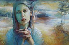 Elena Oleniuc  #art #painting #Romania