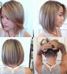 Hair undercut