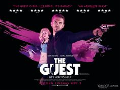 The Guest quad movie poster