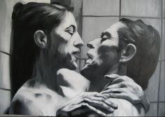 senza titolo - oil on canvas - 80 x 60