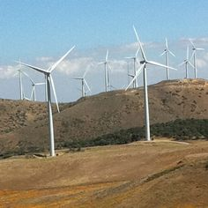 Wind mills in California