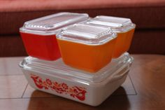 These are just begging to be filled with meatloafs and little chilled jello salads!