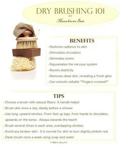 Try dry brushing, your lymphatic system will LOVE you! We sell the best dry brushing products! Benefits Of Dry Brushing, Dry Brushing Skin, Health And Beauty Tips, Health Tips, Health And Wellness, Ayurveda, Weight Loss Meals, The Body Shop, Natural Healing