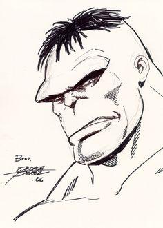 Comic Books Art, Comic Art, Hulk Sketch, Marvel Now, George Perez, Hulk Smash, Bruce Banner, Art Archive, Man Vs