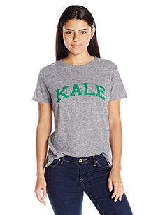 Sub_Urban RIOT Womens Kale Loose Fit Graphic Tee Heather Gray Small ** Continue to the product at the image link.