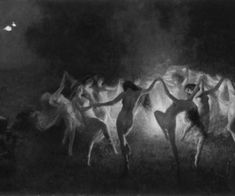 coven dance, witch, and art image Witches Dance, Satanic Art, Arte Obscura, Occult Art, Season Of The Witch, Vintage Witch, Witch Art, Witch Aesthetic, Dark Photography