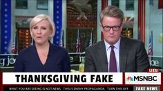 MSNBC Fakes 'Live' Thanksgiving Day After Show #tcot #tlot #tgdn