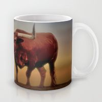 Mug featuring Texas Longhorn  by gypsykissphotography