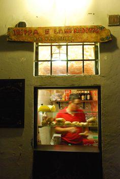 Da Vinattieri - locals only sandwich eatery hidden off Via del Corso, on the same alley as Casa di Dante (yes, it's the home of that Dante)