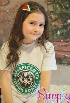 Maleficent Starbucks Coffee Shirt
