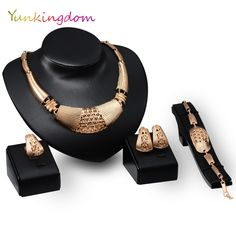 Find More Jewelry Sets Information about Cocktail Party Jewelry Sets wholesale / retail  Gold Plated Bracelet necklace Fashion Luxury accessories for Women YUN0132,High Quality accessories opel,China accessori Suppliers, Cheap accessories cheap from Yunkingdom---Top Fashion Jewelry on Aliexpress.com