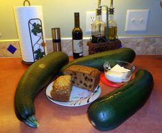 Zucchini into two different breads - magic