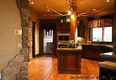 imagenes de decoracion de casas rusticas - Buscar con Google