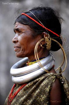 "India | ""Gadaba Fashion"" | © Tom Carter"