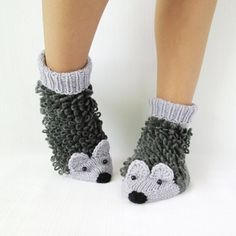 These warm socks: | Community Post: 19 Adorable Things For Anyone Who's Obsessed With Hedgehogs