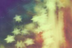 Check out Retro stars bokeh by simonalimona on Creative Market