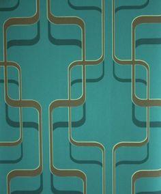 Tapete 789928 Rasch Tapeten Spice Up 2013 Retro blau türkis grafisch Vliestapete Vintage Design von Rasch, http://www.amazon.de/dp/B005CSOBZA/ref=cm_sw_r_pi_dp_bEDYrb0T57RYQ