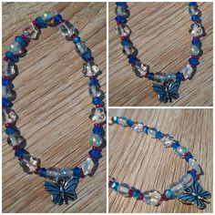 #bracelet #pendant #buterfly #beads #handmade