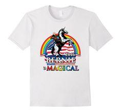 Amazon.com: Zany Brainy | Bernie Sanders is Magical | Funny T-shirt: Clothing