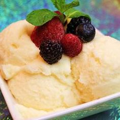Another recipe for snow ice cream. . .but this one has raw eggs, so is definitely not for everyone!