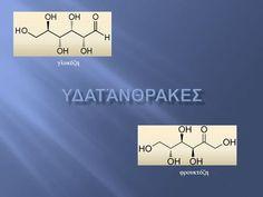 Γλυκόζη φρουκτόζη.  Οργανικές ενώσεις με το γενικό τύπο C n (H 2 O) n ☞ υδρίτες του άνθρακα ☞ πολυυδροξυαλδεϋδες ή πολυυδροξυκετόνες  Ονομάζονται και.