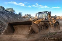 Caterpillar in der Grube ... by Stefan  Korbion on 500px