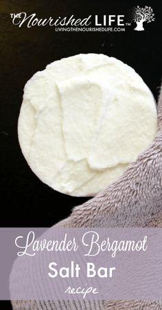 Lavender Bergamot Salt Bar Recipe