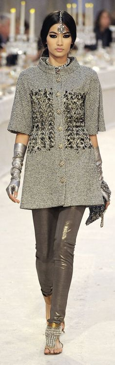 Chanel India   Gorgeous India Influence in Chanel's Paris-Bombay Pre-Fall 2012 ...