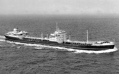 Another photograph of London & Overseas Freighters' oil tanker MV London Victory. Built by Furness Shipbuilding at Haverton Hill & completed early 1952. Scrapped in Bilbao arriving 18/03/74.
