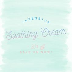 Little Innoscents Intensive Soothing Cream is 20% off right now! Find it in the Specials page of our Website!
