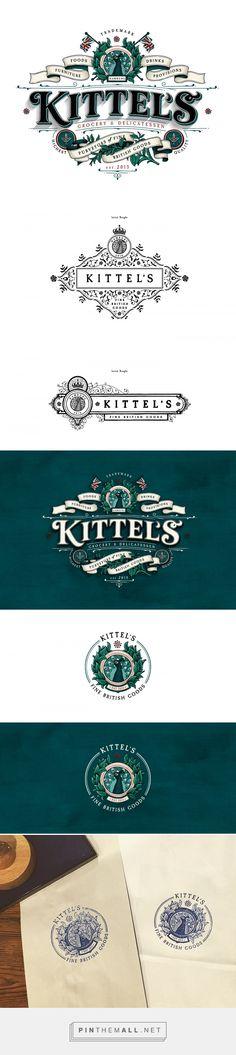 Kittel's Logo Design by Tobias Hall | Fivestar Branding Agency – Design and Branding Agency & Curated Inspiration Gallery  #fivestarbrandingagency #designinspiration #logodesign #branding