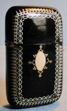 Antigua victoriana Antique Victorian Tortuga Oro Plata coinciden con Caja De Seguridad Antigua coincide con Inglaterra 1900 W