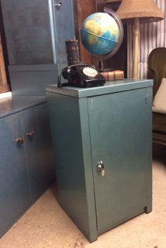 Vintage industrial large metal grey triumph storage cabinet vintage retro metal industrial cupboard single office storage cabinet ebay malvernweather Image collections