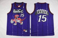 NBA Toronto Raptors Vince Carter Hardwood Classic Throwback Swingman Jersey