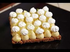Le dressage Tarte au citron de Christophe Michalak  Dressage Lemon Tart