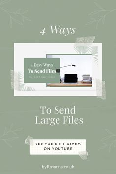 Trying to send files that are too large to be sent by email? Here are 4 easy, free options to help you out (including a tutorial on using AirDrop for Apple Devices) | #sendingfiles #filetransfertips Business Operations, Business Coaching, Time Management Tips, Life Organization, Business Planning, Saving Tips, Productivity, Improve Yourself, Entrepreneur