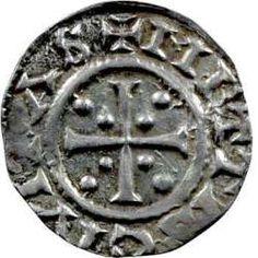 VSO - Louis le Germanique, denier, Metz - Monnaies Carolingiennes- 6) LOUIS LE GERMANIQUE. 1. Biographie. 1.1 Sous le régne de Louis 1°, enfance et rébellions: Sous l'impulsion de Lothaire, l'empereur déchu remonte sur le trône et fait finalement la paix avec Louis, à qui il redonne la Bavière en héritage en 836. Malgré cela, Louis lance la 3° guerre civile en 839 sous prétexte que son père a attribué un peu de son royaume à Charles.