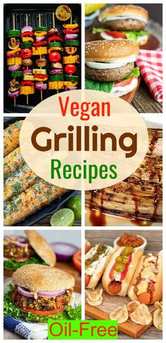 Contrary to popular belief, there are lots of grilling for vegan options including veggie kabobs, corn on the cob, tofu steaks, asparagus, leeks, and much more. #vegangrilling #plantbasedgrilling Vegan Bbq Recipes, Vegan Recipes Plant Based, Summer Grilling Recipes, Healthy Grilling, Vegan Dinners, Whole Food Recipes, Recipes Dinner, Grill Recipes, Wrap Recipes