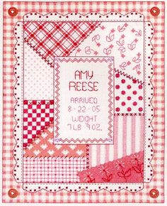 http://www.123stitch.com/item/Bobbie-G-Designs-Its-a-Girl-Cross-Stitch-Pattern/04-3292