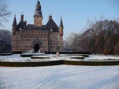 Museum Kasteel Wijchen bij winter