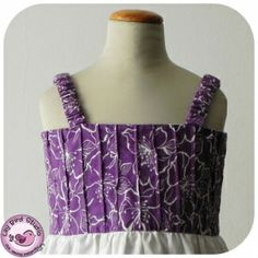 Stylish Dress with Pleated Bodice Pattern by Lily Bird Studio Girls, baby, toddler ,E book, tutorial, PDF, downloadable, sewing pattern, easy, DIY, instant download, Spring, Easter, digital, e pattern, kids, sew, AllegroDigiPatterns,