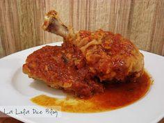 Pollo en salsa chile d arbol