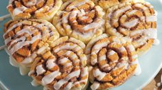 These delicious gluten free cinnamon rolls made with Bisquick® Gluten Free mix are buttery and full of ground cinnamon - frosted with a sweet cream glaze.