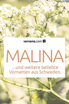 Swedish first names with meaning and origin- Schwedische Vornamen mit Bedeutung und Herkunft You like the name Malina? Here you can find other beautiful first names for girls and boys that are popular in Sweden. Cute Baby Names, Baby Girl Names, Names With Meaning, First Baby, Baby Party, First Names, Beautiful Babies, Kids And Parenting, Flower Designs