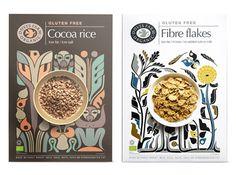 дизайн упаковки для Doves Farm Cereal