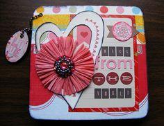 Valentine's Day Mini Scrapbook - Scrapbook.com
